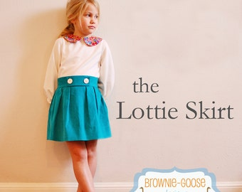 BG Originals Lottie Skirt pdf pattern