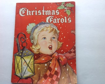 Christmas Carols, Whitman Publishing, Vintage Songbook, 1942