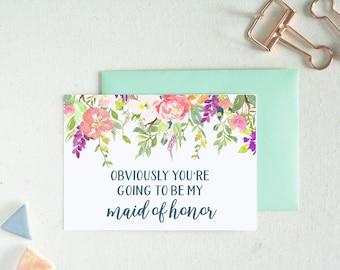 Bridesmaid Proposal. Bridesmaid Card. Bridesmaid Gifts. Maid of Honor Gift. Personalized Gift. Wedding Card. Flower Girl Proposal. 55