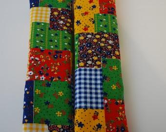 seatbelt covers car 1 pair Multicolored Patchwork
