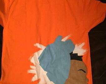 Faceless portait t-shirt