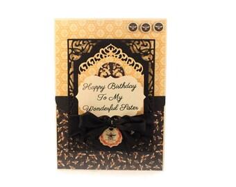 Birthday Card For Sister, Elegant, Luxury Handmade Card, Sister Birthday Card, Cottage Chic, Shabby Vintage, Fancy Handmade Greeting Card