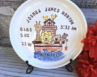 birth plates etsy