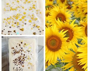 Sunflower Wax Melts, Sunflower, Sunflower Fragrance, Wax Melt Tarts, Soy Tarts, Scented Melt, Scented Wax, Soy Wax Melts, Soy Melts