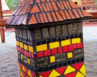 Mosaic Mailbox African design