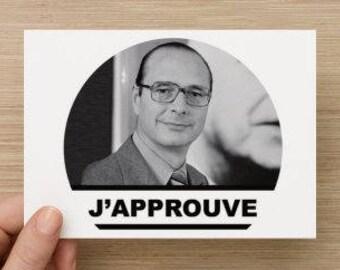 Jacques Chirac Card