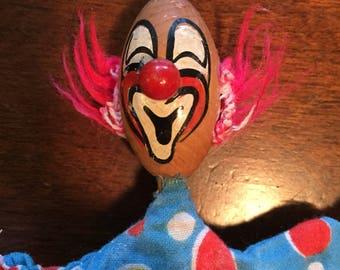 Bozo the Clown Pop Up Peek-a-Boo toy vintage RARE