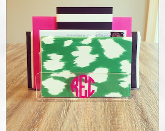 Personalized Acrylic Letter Holder