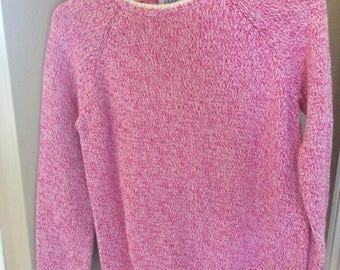 Pink Izod Sweater Adult Small