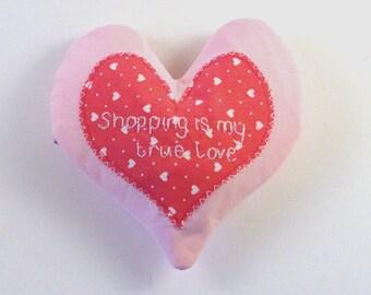 Pretty Little Love Heart Coin Purse in Pink