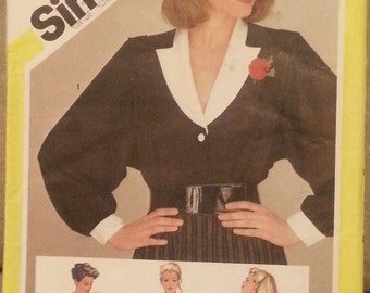 Vintage Sewing Pattern Simplicity 6127