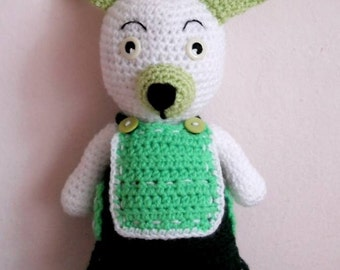 Cute crochet Bunny Amigurumi stuffed animal Kids toy Handmade bunny toy Birthday gift Cute Amigurumi doll Easter Gift