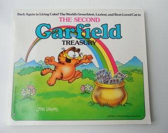 Garfield Treasury. The Second Treasury of a collection of Sunday Comics