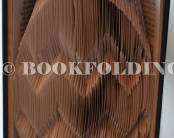 Easter egg book folding pattern