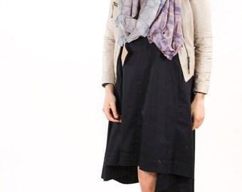 infinity scarf, silk infinity scarf, Felted scarf, unique scarf, wearableart, silk felt scarf, cowl, snood, bohemian clothing, boho scarf