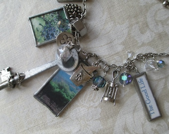 Napa Valley Soldered Charm Necklace California Charmed Vintage THE GOOD LIFE