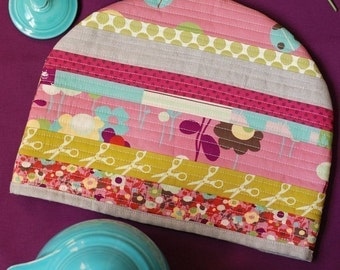PDF Sewing Pattern Posy Cozies Patchwork Tea Cozy Instant Download