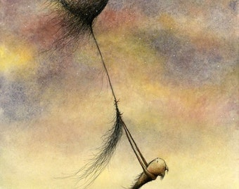 After Winds Long Contrary - fine art print