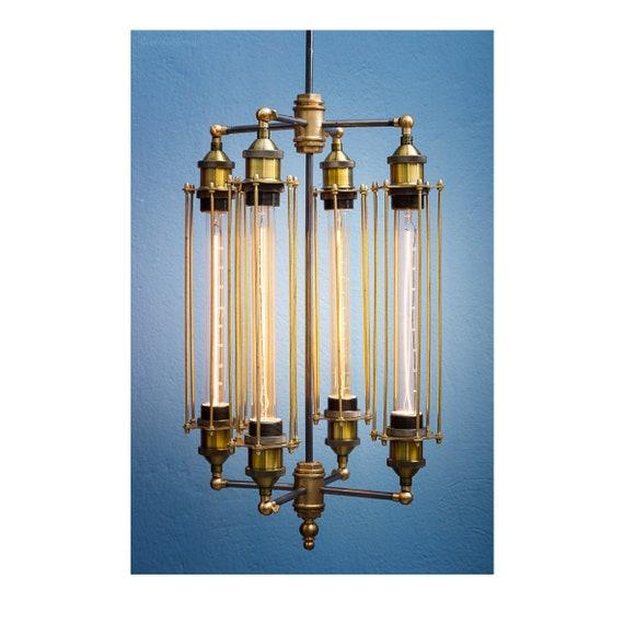 Metall-Tisch Lampe handgemachte Beleuchtung
