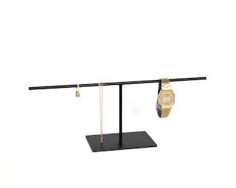 Jewellery Stand, Black Jewellery Display, Steel Jewelry Stand, Steel Bracelet Display, Steel Bracelet Stand, Bracelet Holder