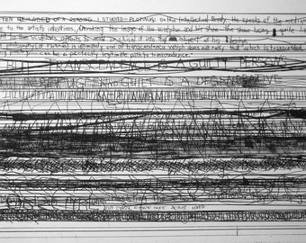 """Limited edition fine art etching """"Transcendence"""" by Bridget R. O'Donnell"""