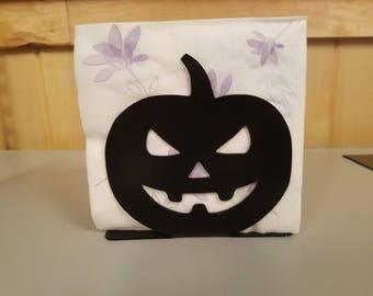 Napkin holder pumpkin Halloween Jackolantern