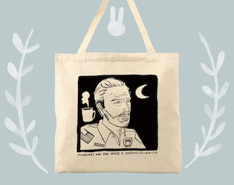 Chief Hopper Stranger Things Tote