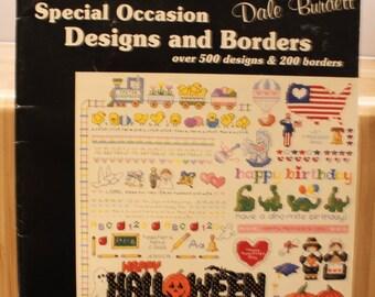 Cross Stitch Book - Special Occasion Designs & Borders