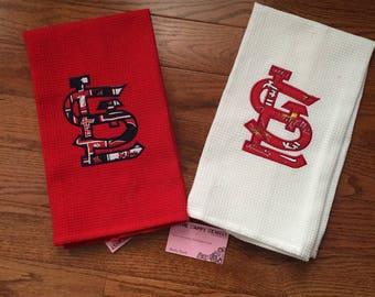 St. Louis Cardinal Tea Towel