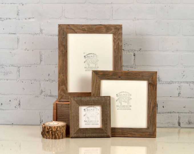 RECLAIMED wood frames - signedandnumbered