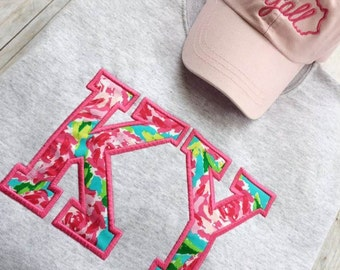Lilly Inspired Sweatshirt - Lilly Inspired Kentucky Sweatshirt - Lilly Pulitzer Inspired - State Sweatshirt - State Pride