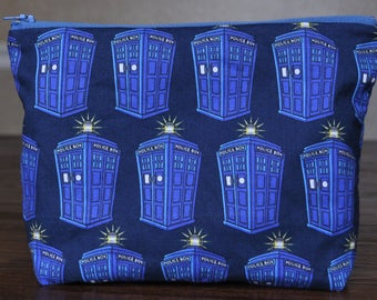 Doctor Who Tardis-Ception bag  - OOAK