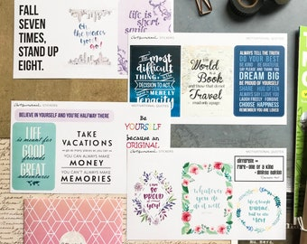 Big Quotes Value Pack Artsunami Stickers Planner Journaling Scrapbooking