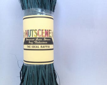 Nutscene Raffia 50gm  - Hunter Green