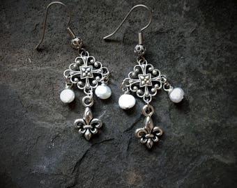 Outlander Inspired Earrings, Outlander Earrings, Dangle Earrings, Outlander Jewelry, Outlander Jewellery, Sassenach, Sassenach Earrings,
