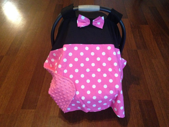 minnie mouse car seat canopy