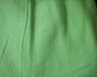 "Green Flannel, Spring Green Cotton Flannel, Bud Green Flannel, 40"" x 44"""