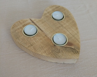 Heart Shaped Tealight Candle Holder