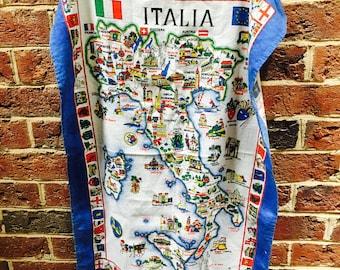 Vintage Italy Tea Towel