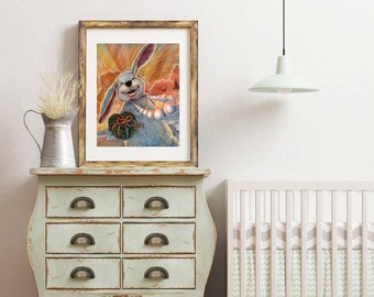 The Rabbit Giclee Print