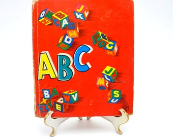 Vintage Child's ABC Book, Whitman Tell-A-Tale Book, 1950s