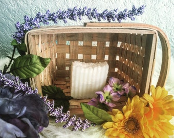 Pure coconut oil soap - homemade - vegan - handcrafted - soap - shampoo body wash - unscented - sensitive skin
