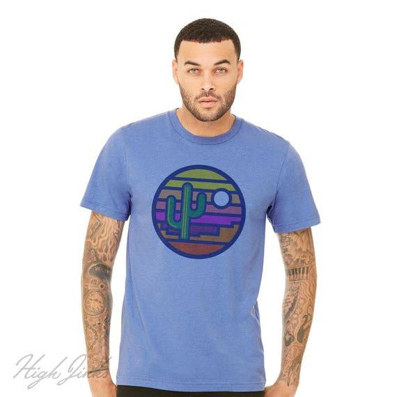 Stained Glass Sunset : Arizona Series Crew Neck T-Shirt