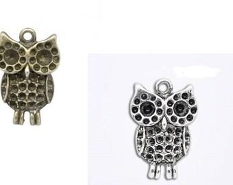 Owl, Owl, owl pendant, pendant, jewelry pendant,