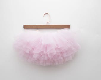 NEW blush pink ombre tutu | pink girls first birthday outfit | pink tutu | rose gold birthday |