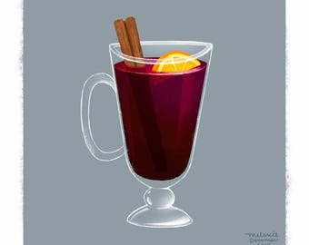 Mulled Wine   Hot Drink Series