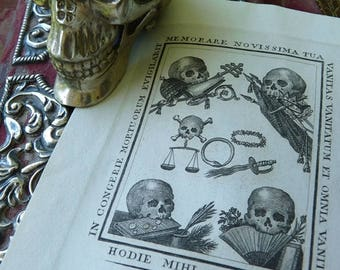 Antique 1800s Memento Mori Vanitas, Memento Mori Curio, Queen of the Inbetween, Midwife, Seer, Visionary, offered by RusticGypsyCreations