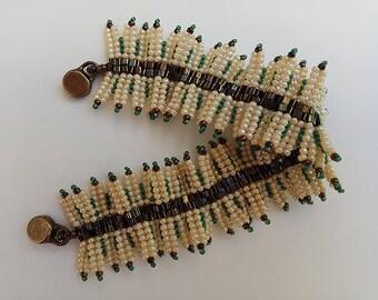Beaded bracelet. Bracelet for woman. Beaded jewelry.