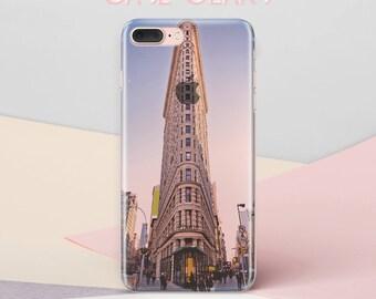 Clear iPhone Case New York iPhone Case iPhone 6s Plus Case Coque iPhone 6 Case iPhone 5 Case iPhone 5s Case Hard Plastic Phone Case  CG1001