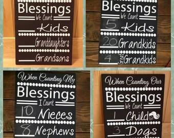 Counting Blessings Grandchildren vinyl only
